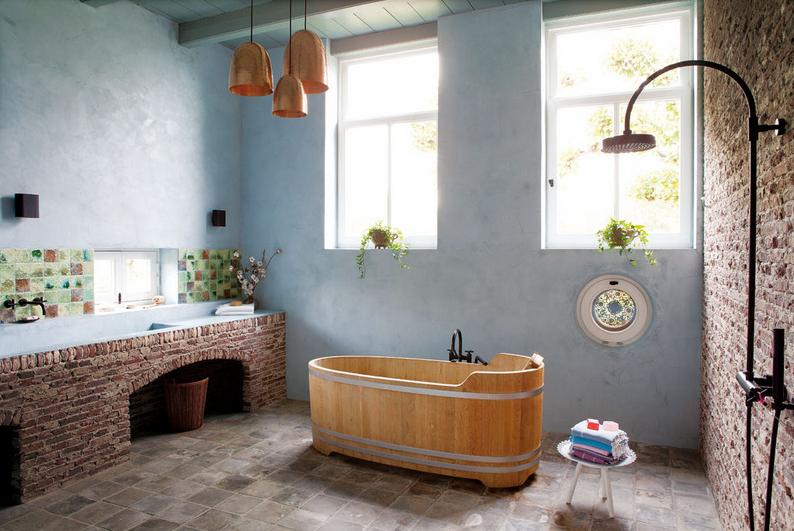 Barn Bathroom   Eclectic Trends