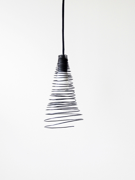 Eclectic Trends | DIY wire lamp shade - Eclectic Trends