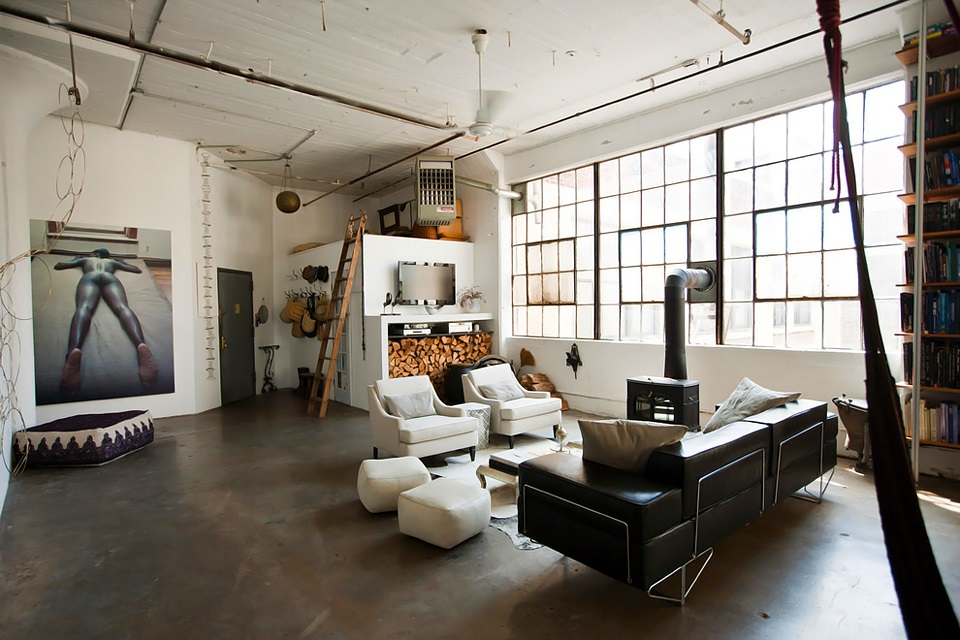 Living In A Loft : Eclectic Trends  An eclectic loft in Brooklyn - Eclectic ...