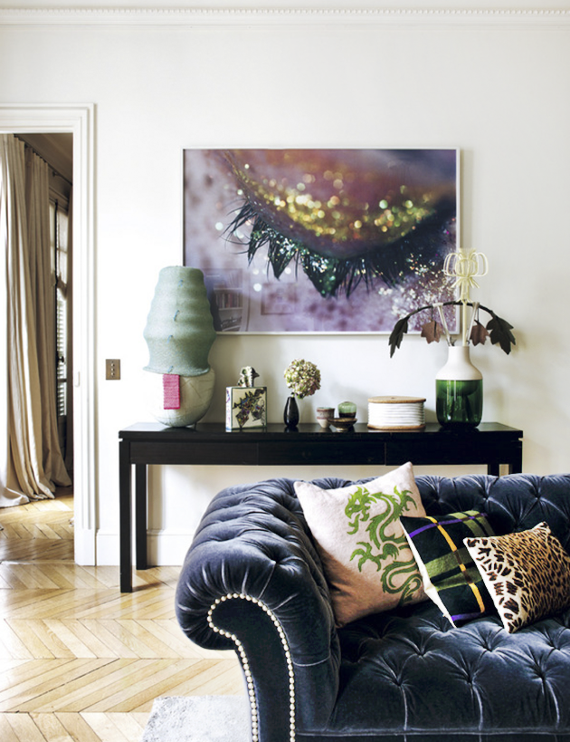 An eclectic home in Paris Eclectic Trends
