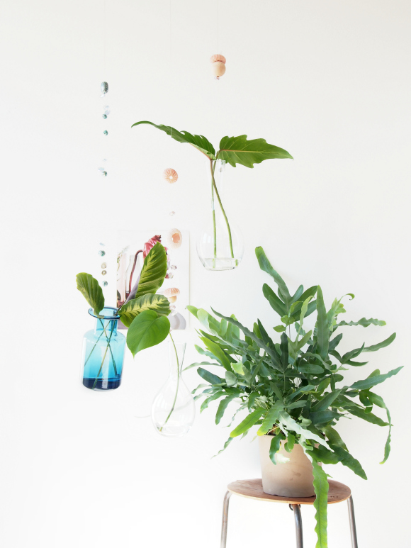 DIY Monsterscircus floating vases