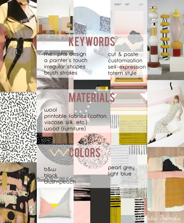 Eclectic trends my lifestyle trends aw 2016 17 for global color research collage part iii Home architecture trends 2018