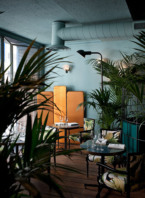 Caffe Burlot Paris Dimore Studio Jungle Trend