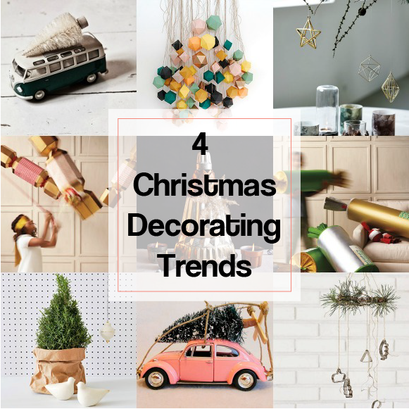 4 christmas decorating trends