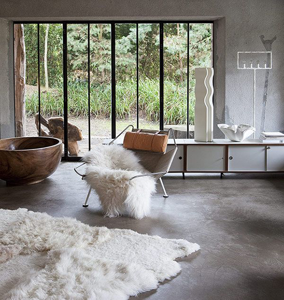 eclectic interior design with Bea Mombaers