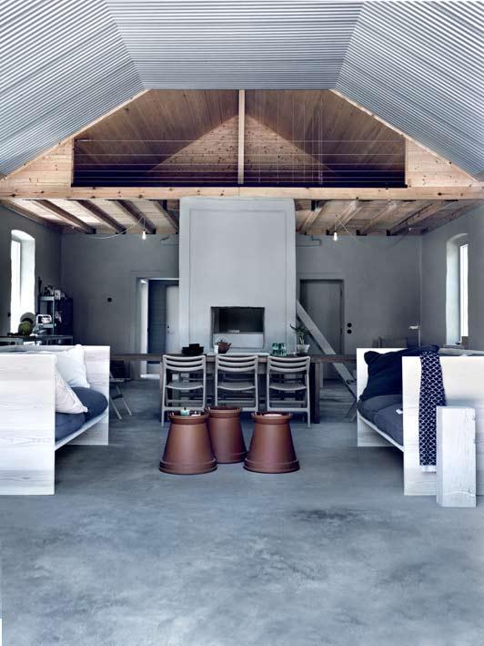 grey farmhouse interior design