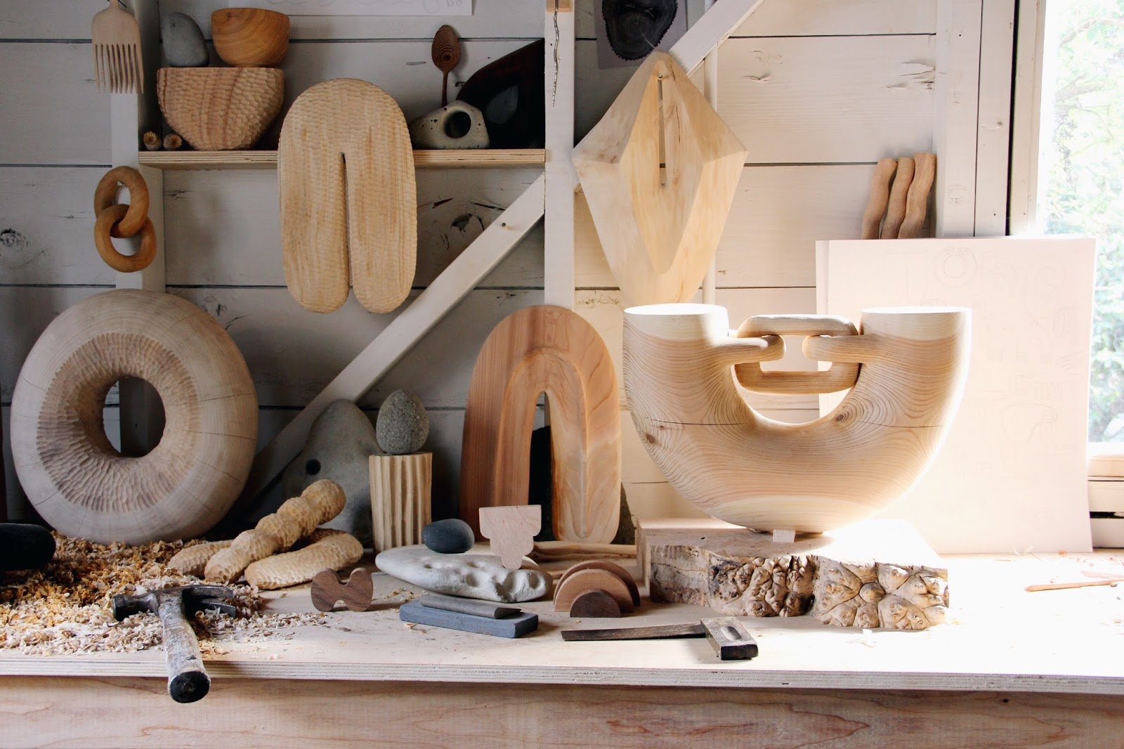 Eclectic Trends   Sublime wood sculptures and everyday objects by Ariele Alasko