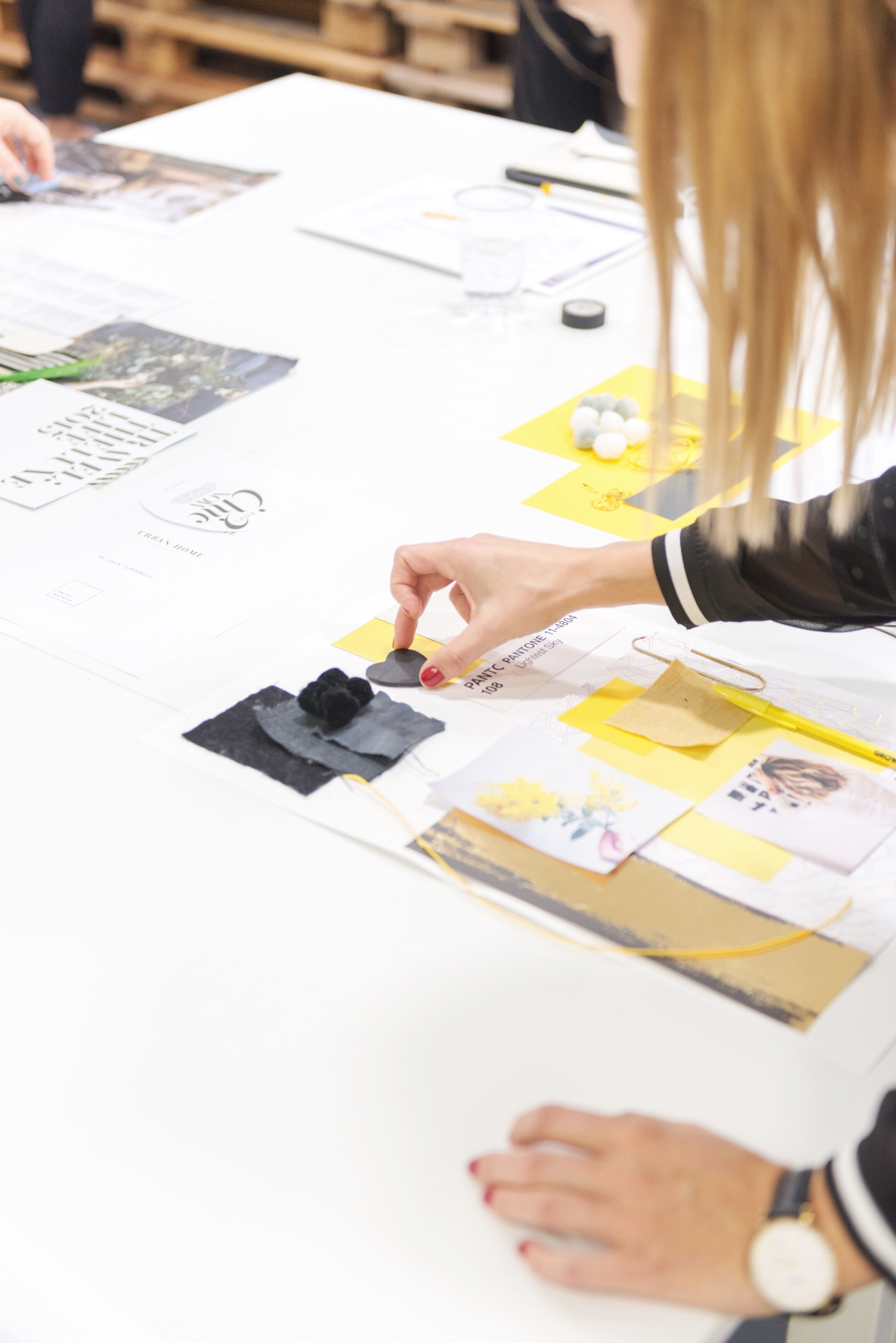 how to create a mood board - the workshops