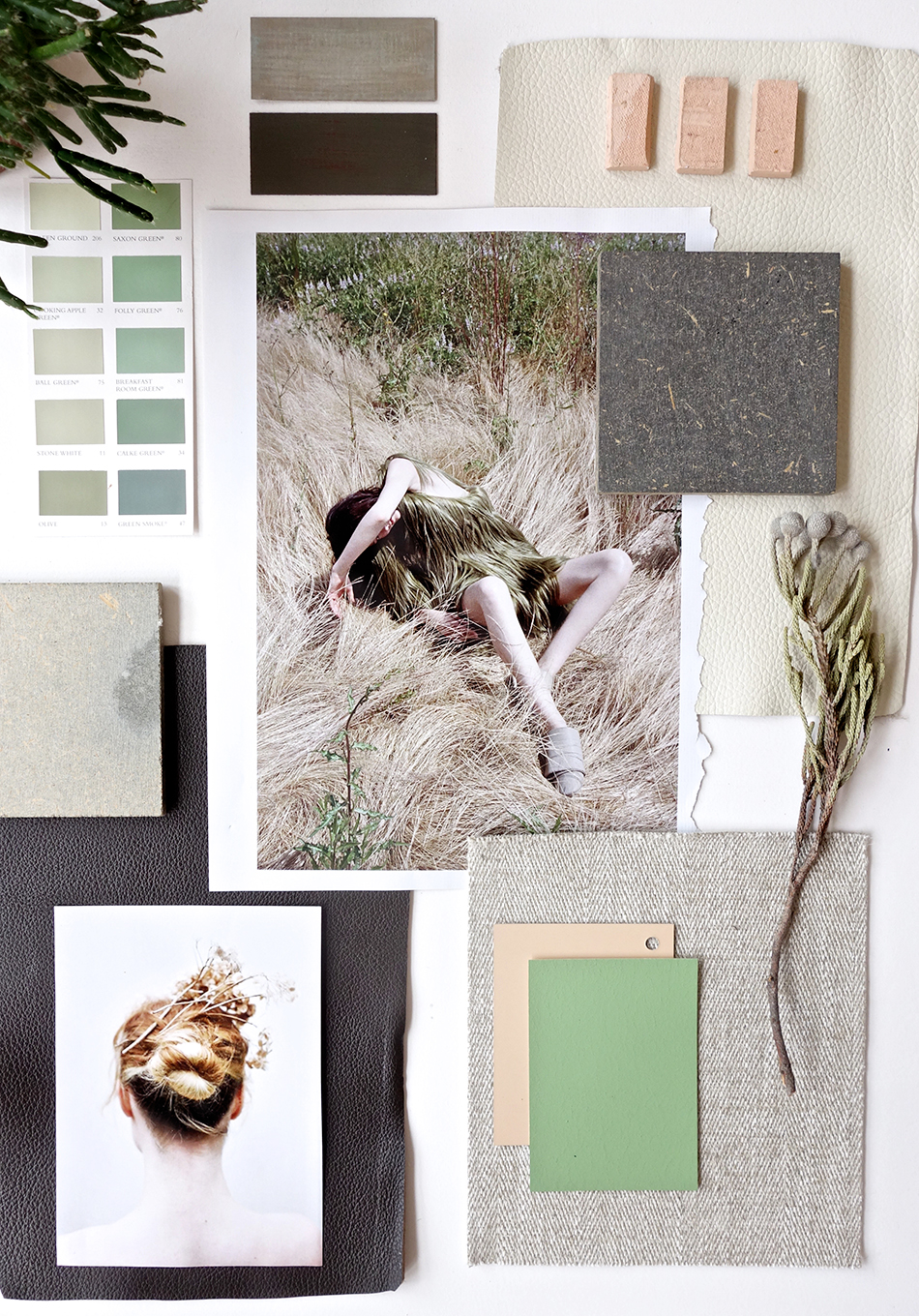 Eclectic Trends-rough nature mood board