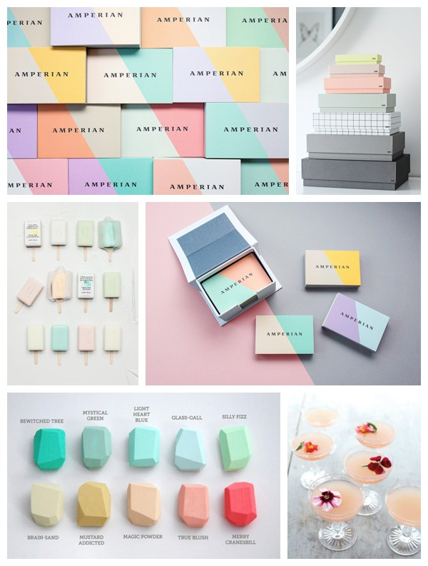 Fiona Humberstone for Eclectic Trends- 4 colors for your business brand-pastels