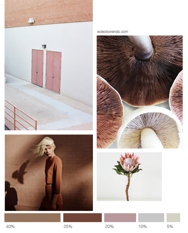 Color inspiration terracotta+make-up -Eclectic Trends