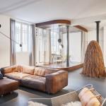 The Glass & Walnut Loft