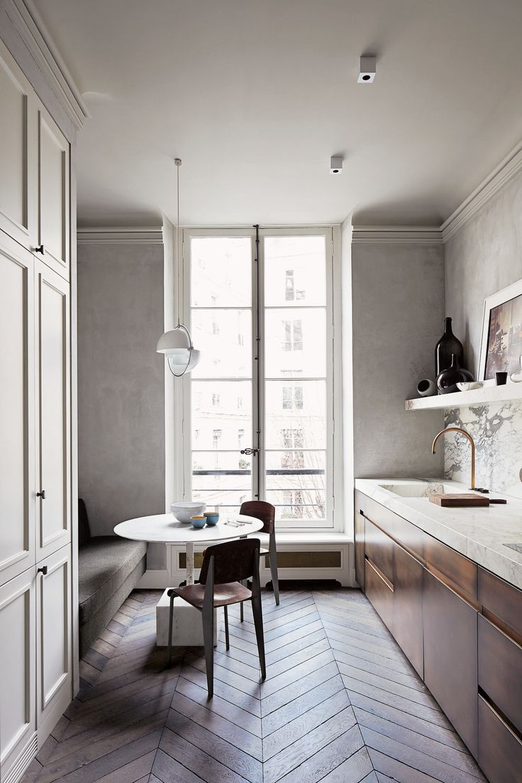 A classy apartment in Paris-Eclectic Trends