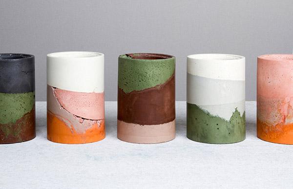 Studio Twocan-Cement Container-Eclectic Trends