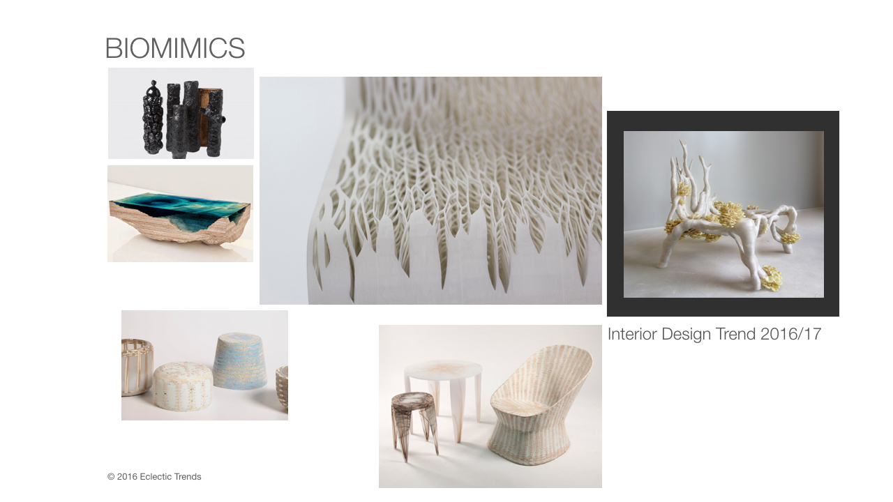 Biomimics interior design trend eclectictrends
