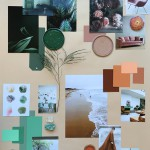 My April Mood Board: How to Create a Color Mood Board