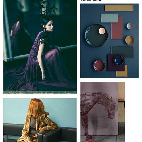 Color Inspiration No.10: Pine, Velvet Purple, Bosporus, Amber, Grape