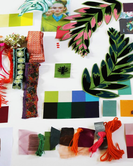 From the mood board to the finished product with Liss Cooke via Eclectic Trends