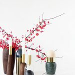 DIY Modern Christmas Candle Decoration