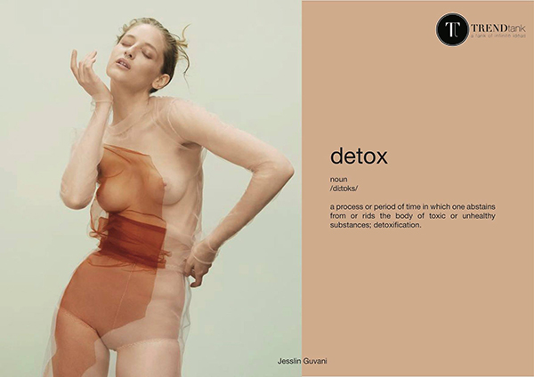Detox-A lifestyle Trend 2017 by Trend Tank via Eclectic Trends