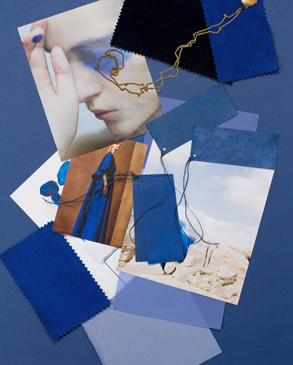 Mood Board of the month_ Blue Trend_Eclectic Trends