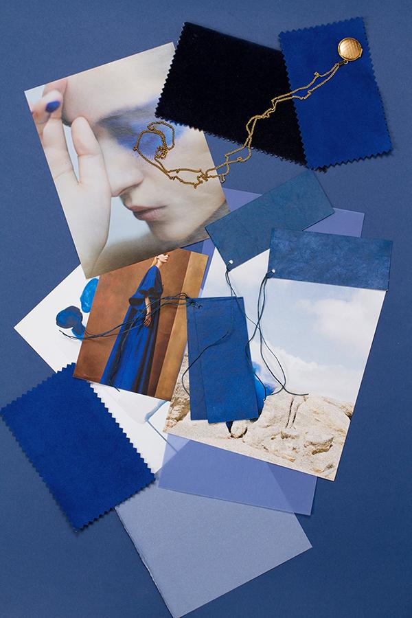 Trending Blue Mood Board via Eclectic Trends