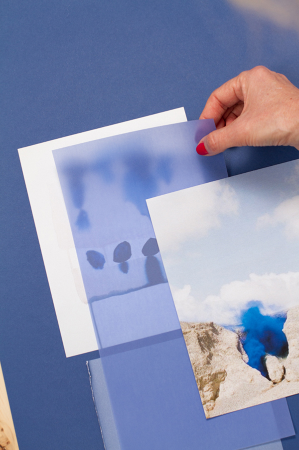 How to create a tone-on-tone color mood board? The Blue Series via Eclectic Trends