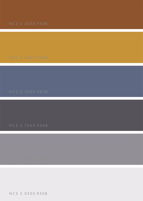 NCS Colour Trends 2018 via Eclectic Trends