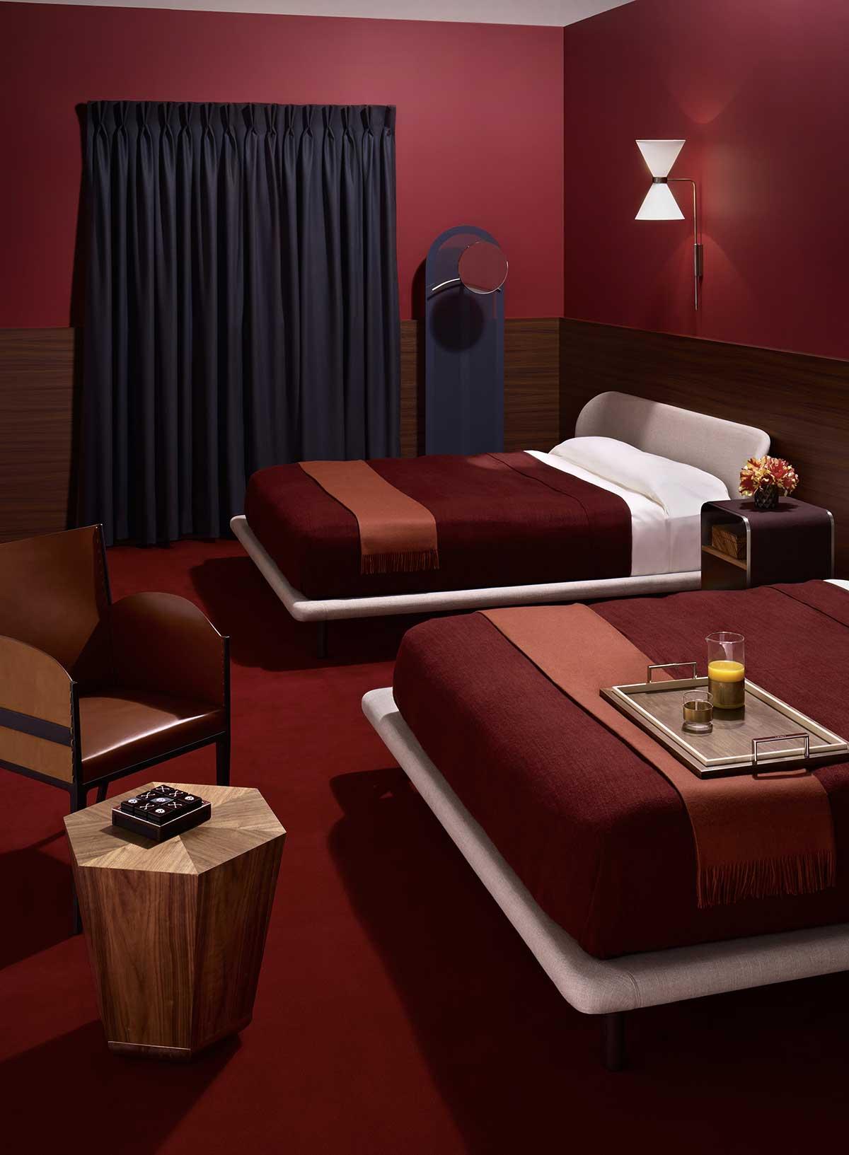 70s Motel Interior Style via Wallpaper