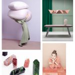 Color Inspiration No.19: Lavender, Geranium, Verdi Gris, Forest, Jam