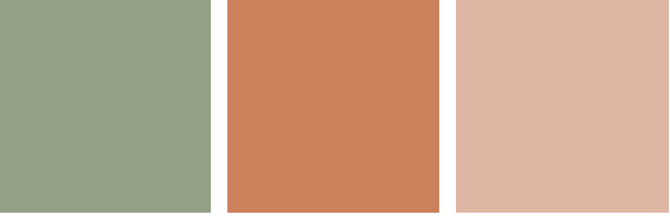 4 Color Trends 2018 by Dulux Kinship Color Palette via Eclectic-Trends