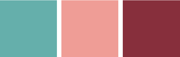 4 Color Trends 2018 by Dulux Escapade Color Palette via Eclectic-Trends