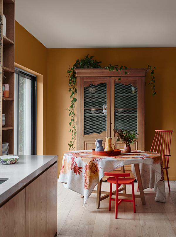 4 Color Trends 2018 by Dulux_Kinship_4 via Eclectic Trends