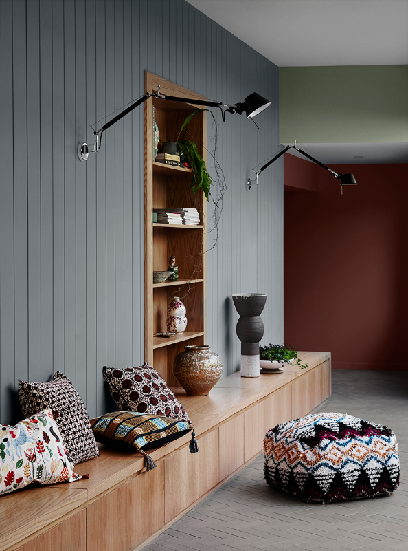 4 Color Trends 2018 by Dulux_Kinship_5 via Eclectic Trends