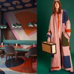 When Interior Design Meets Fashion: Color Blocking