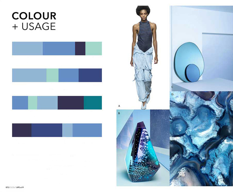 Eclectic Trends | Fashion Color Trends S:S 2019 translated into Interior Design_2