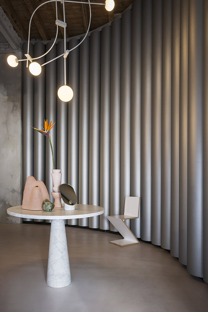 Eclectic Trends   The ribbed surface: the latest trend in interior design