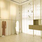 The Forte Forte store embodies the feminine spirit of the brand
