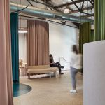 A circled office space for Bresic Whitney