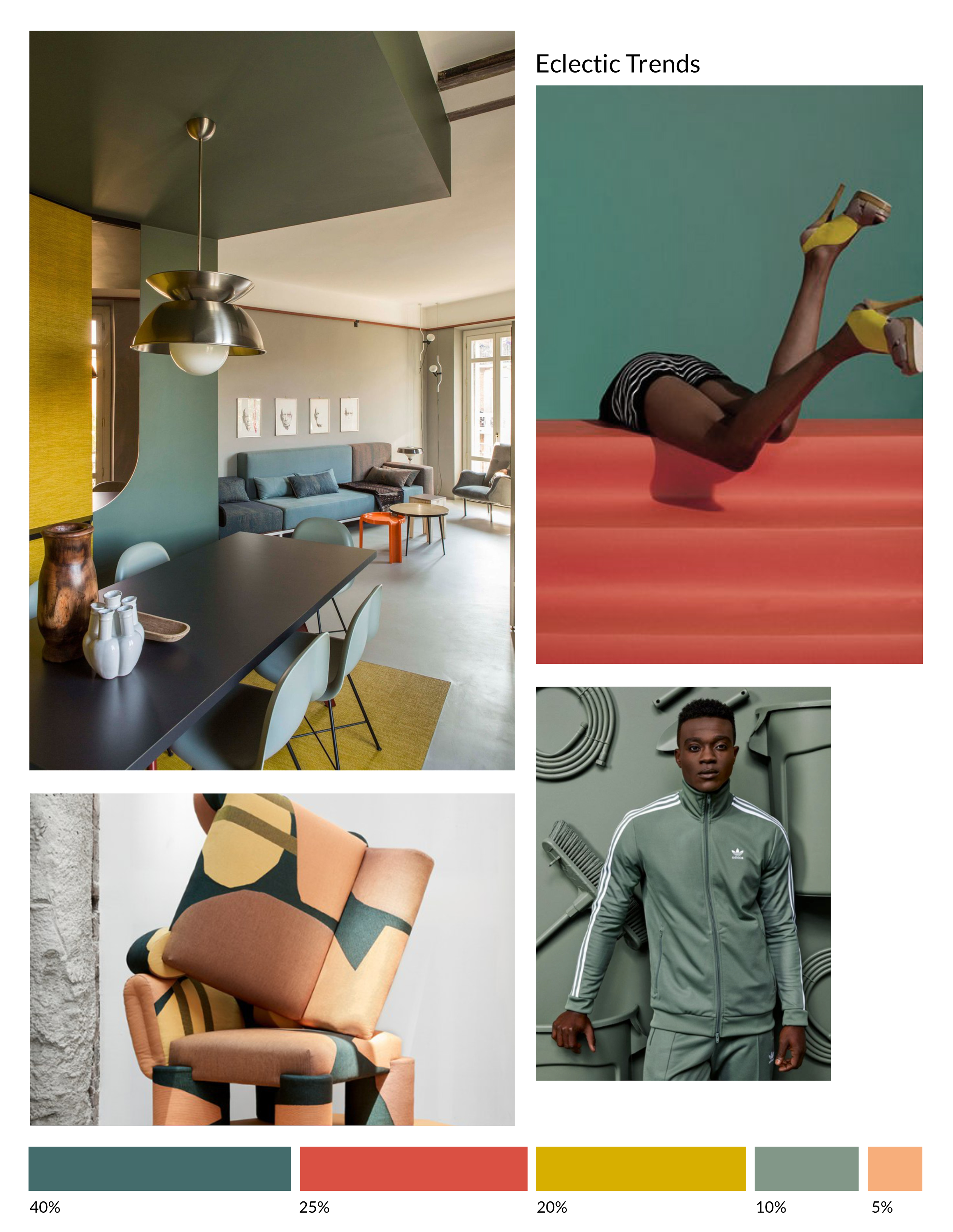 Color Inspiration No.25 - Eclectic Trends