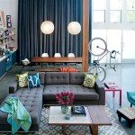 A colorful retro loft in California