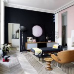 A stylish, most elegant and colorful apartment in Paris