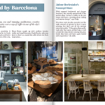 Contributing to Heart Home Magazine with a selection of my favorite Barcelona cafés