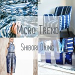 MICRO TREND: Indigo Shibori Dying