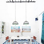A colorful home in Morroco with the most stunning patterns