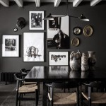 Black&White and gray interior design in Lyon
