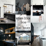 It's trending: Black Kitchen