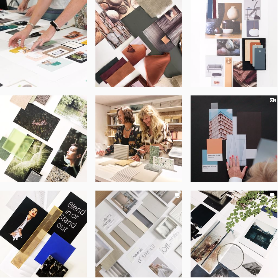 Mood Board Academy Instagram