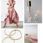 Color Inspiration No.4: Strawberry, Sand, Gray, Gold & Peach