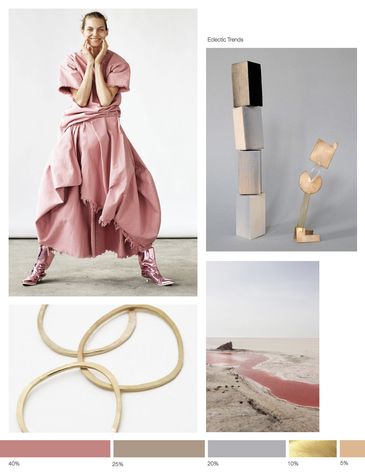 Color inspiration August - Eclectic TRends